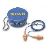 3m 340-4002 e.a.r Reusable Earplugs - Corded c/w carrying case(1x50pcs)
