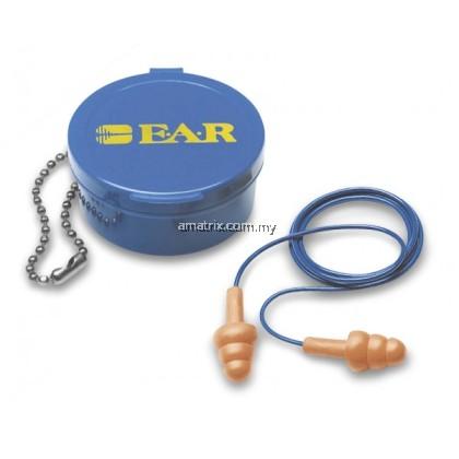 3m 340-4002 e.a.r Reusable Earplugs - Corded c/w carrying case(1x50pcs)