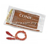CONIE-3-OR Reusable Earplugs - Corded