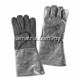 Aluminised Heat Resistance Gloves Panox Palm ALU/370/5F-PANOX