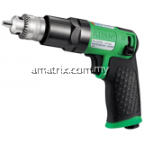 "Air Drill 1/4"", Reversible, 1800rpm"