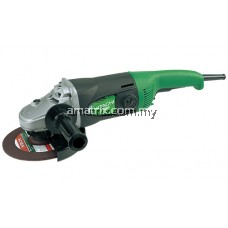 Hitachi G18SR Angle Grinder 180mm (7˝) 2000WExcellent overload durability. Durable metallic holder of ball bearing