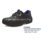 BLACK GRAIN LEATHER LACED SAFETY SHOE TE 600 X replace K2 tv300 BLACK GRAIN LEATHER LACED SAFETY SHOE