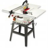 Jet JTS-10 Table Saw Large table surface 940 x 950mm, cuts up to 410mm wide with the fence