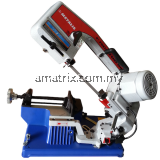 "ue-100s Metalis Horizontal Bandsaw for Metal 1/2HP, 4"", 27kg Portable bandsaw with cutting capacity of 4""(100mm)."