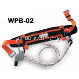 Work Positioning Belt 2-pcs lateral positioning D-rings.