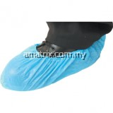 "DISPOSABLE OVERSHOES BLUE 16""/400mm (PK-100)"