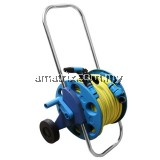 38-PH931 PVC Garden Hose W/Trolley Reel Cart