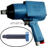 "TOKU MI-20PL Air Impact Wrench 3/4"", 40-80kg.m, Twin Hammer,MI-20PL"