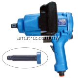 "Toku Air Impact Wrench 3/4"" 50-110kg.m Pin-Less Clutch.MI-2500PL"