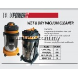 EUROX VAC5001 Industrial Wet & Dry 30L Vacuum Cleaner 1800W