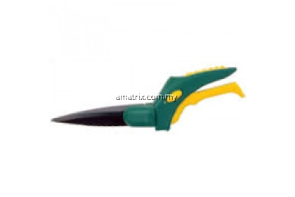 360º heat treated carbon steel swivel blade 340MM Length GRASS SHEARS
