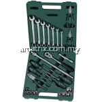 "SATA Socket &  Tool Set 26pc, 1/2"", 9kg, Metric, 09502"