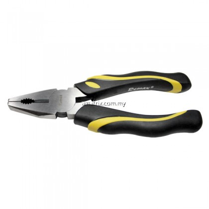 "8""/200mm COMBINATION PLIER Treated wire cutter Non slip handle"
