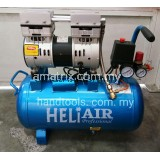 HELI YM-OF750 OILESS AIR COMPRESSOR 24L,8Bar,50Hz