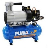 Puma MB0104 100W (1/8HP) Portable Mini Oil Less Air Compressor