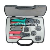 Proskit 6PK-330K Coaxial Crimping Tool Kit Screwdriver #1x125