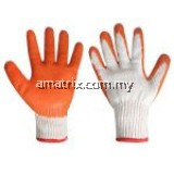 97-005 PVC DIPPED COTTON YARN GLOVE Slip resistance Soft and endurable