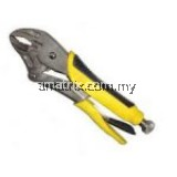 Stanley Curved Jaw Locking Pliers With Bi-Material Handle 10˝