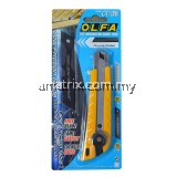 Olfa L-1/LFB Heavy Duty Cutter Fluorine Coated