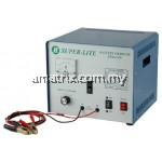 super lite stm 2420 BATTERY CHARGER No of Battery:2 x 12v Charging Current:Max 20A (Selectable)