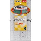 OLFA QR-6X12 6Inches X 12 Inches Quilt Ruler