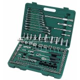 "120PC 1/4""&3/8""&1/2"" SOCKET WRENCH SET(METRIC & S.A.E)"