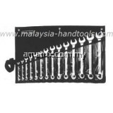 "STANLEY 87-709 Slimline 14 Piece Combination Wrench Set(3/8"",7/16"",1/5"",9/16"",5/8"",11/16"",3/4"",13/16"",7/8"",15/16"",1"",1 1/16"",1 1/8"",1 1/4"")"