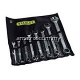 Stanley 87-033 10-19mm 9pce Slimline Combination Wrench(10,11,12,13,14,15,16,17,19)