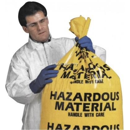 HAZARDOUS MATERIAL DISPOSAL BAG