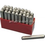10.0mm (SET OF 27) LETTER PUNCHES KEN5604100K