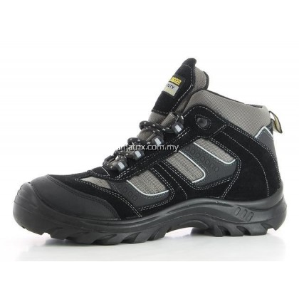 SAFETY JOGGER CLIMBER Safety Shoe Black/Grey Middle Cut