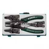SATA 09251 5 Pc. Combination Snap Ring Pliers Set