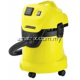 Karcher WD3 Wet & Dry Multipurpose Vacuum Cleaner (1000W/17L)