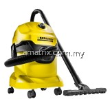 Karcher WD4 Wet & Dry Multipurpose Vacuum Cleaner (1000W/20L)