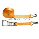 Ratchet Tie Down Lashing Strap w/ 8 Ton Breaking Strength 3˝x 10 Meters Car Lorry Truck Towing Strap