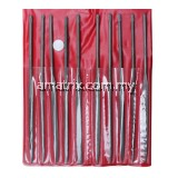 10PCS NEEDLE FILE SET Work on carbide, glass, hardened steel, and other difficult to machine materials(65-NF110)
