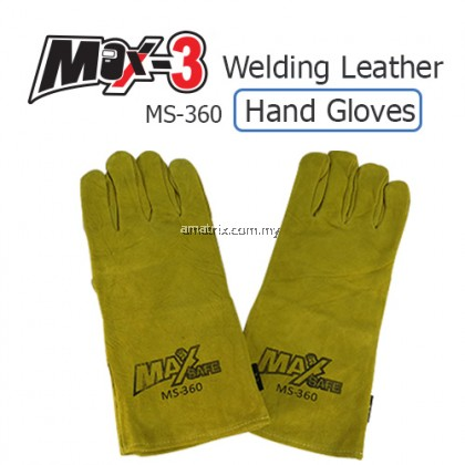 "MS-360 14"" MAX -SAFE Welding Leather Hand Glove MS-360"