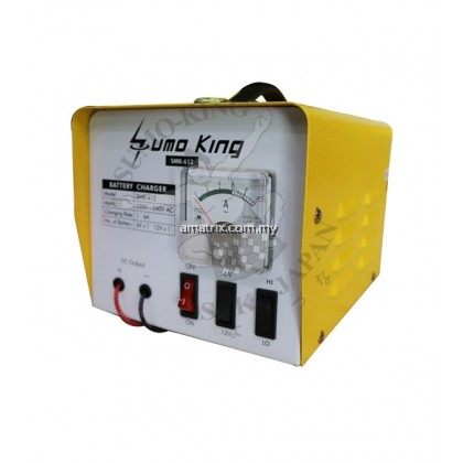 6V-12V Professional Battery Charger BC612