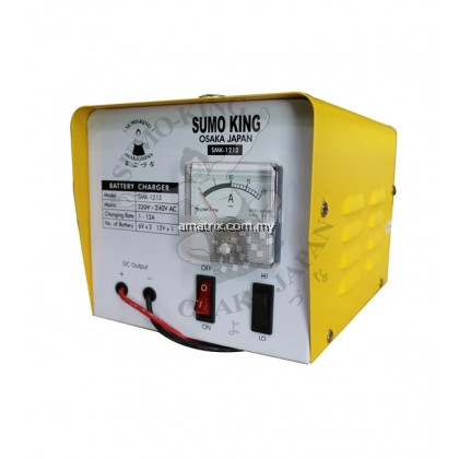 12V Professional Battery Charger BC1212