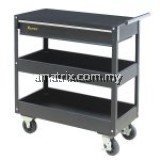 3 LEVEL HEAVY DUTY TOOL CABINET 2 level tray & 1 drawer storage space 737(W) x 668(H) x 383(D)mm