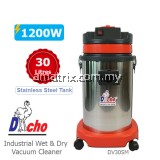 Stainless Steel Wet & Dry Vacuum Cleaner (1200W/30L) DC30SM