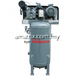 Hitachi Bebicon Air Compressor oil flooded,,vertical type,7.5hp, 12Bar, 317kg 5.5P-12.5V5A(Three Phase)