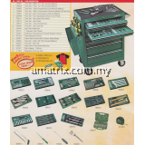 SATA 95107P-15 Seven Drawers Tools Trolley Set, 298PC