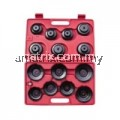 15PCS CUP TYPE OIL FILTER WRENCHES KT-65100FW
