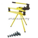 "Industrial Hydraulic Pipe Bender with Stand 1/2"" - 3""Tripod mounted pipe bender suitable for bending pipes up to 180° (3 x 60° bends"