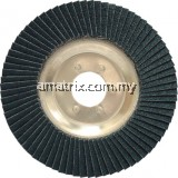 YRK2208150K 115x22mm ALUM/BACK ZIRC FLAP DISC P120