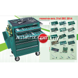 SATA 95107P-15A 298 PCS TOOLS SET WITH 7 DRAWER ROLLER CABINET