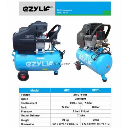 2.5HP 40L Portable Air Compressor EZYLIF HP25
