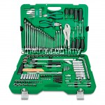 "Toptul GCAI150R 150 PcsTool Kit 6PT 1/4"" & 1/2"" 1/4"" & 1/2""DR 6PT Socket & Tool Set"